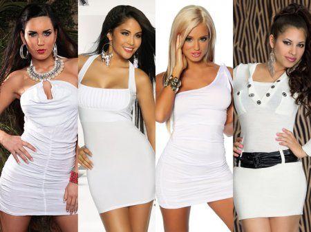 Як носити маленьке біле плаття » Світ очима жінки e5476cc2eae6f