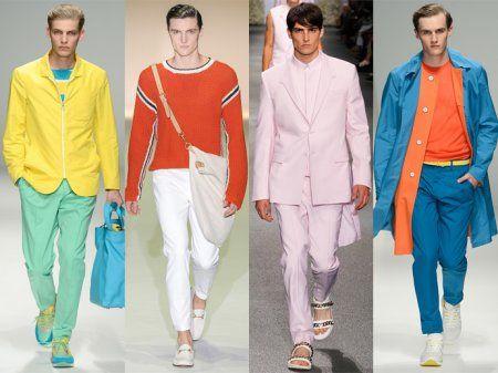 Чоловічий одяг весна-літо 2013  п ять модних кольорів b9af485283d4d