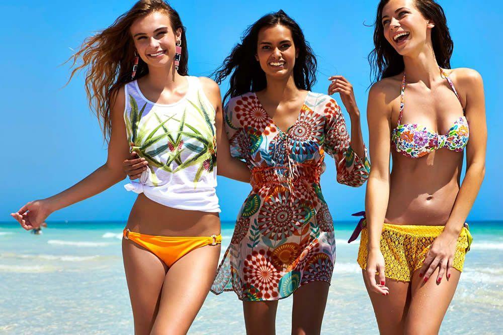 Как модно одеваться на пляж фото