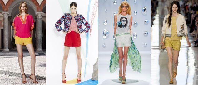Шорти - модний тренд літнього сезону 2013 » Світ очима жінки 20fc7f296c6e5