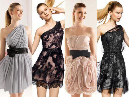 Короткі вечірні сукні pronovias 2013