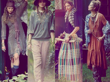 Лукбук Free People Rambling Rose 2013