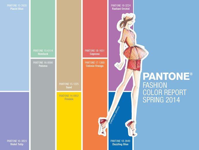 Тенденції моди. Модні кольори весна-літо 2014 » Світ очима жінки 43a6670510737