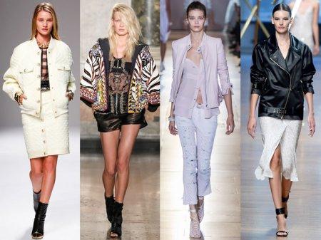 Жіночі куртки у весняно-літніх колекціях 2014 a0a8e1d3b86a0