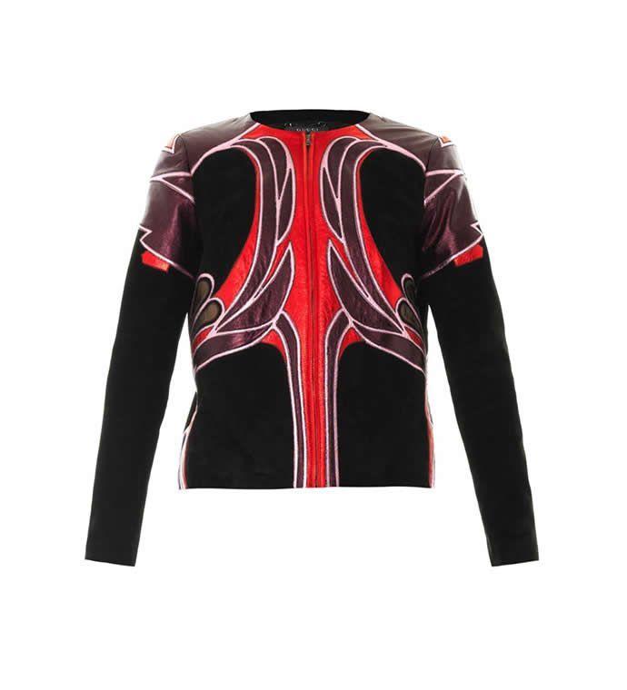 Модні шкіряні куртки для жінок сезону 2014-2015 » Світ очима жінки b2372a96d7a4d