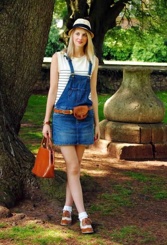 Поради модницям. Як і з чим носити комбінезони » Світ очима жінки 40ae65b73d9df