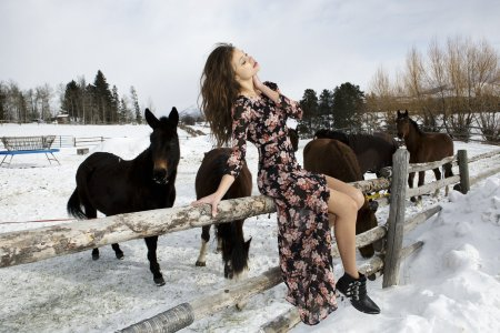 Колекція For Love and Lemons «Howdy From Jackson Hole» осінь 2014
