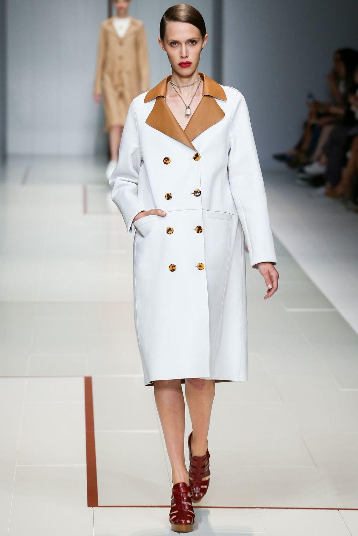 белое пальто осень весна